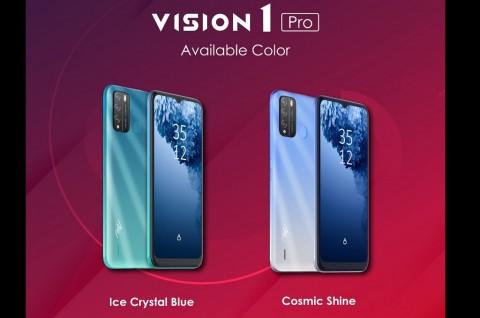 Itel Segera Kenalkan Smartphone Vision1 Pro di Indonesia