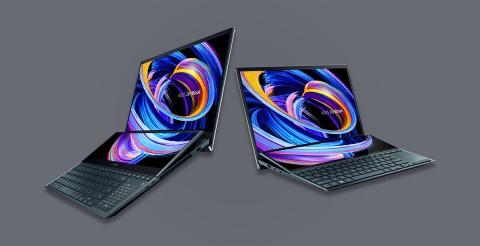 Asus Kembali Jagokan Laptop Layar Ganda di CES 2021