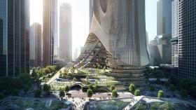 Megahnya Gedung 'Kembar' Tertinggi di Shenzhen