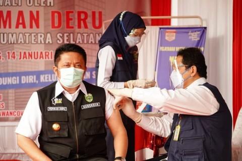 Gubernur Sumsel Pastikan Warga Tolak Vaksin Tak Dikenai Sanksi