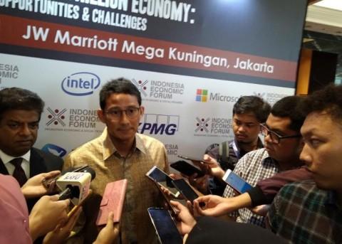 Sandiaga Sebut Teknologi Mendorong Perubahan di Indonesia