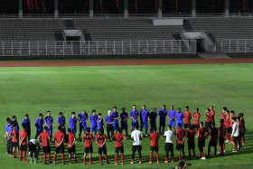 Shin Tae-yong Berharap Liga Indonesia Kembali Bergulir