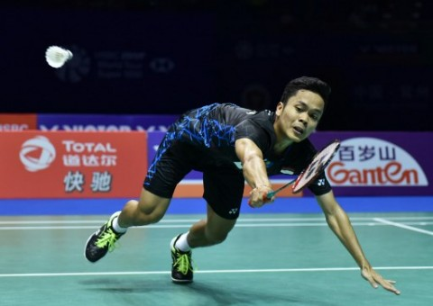 Thailand Open: Anthony Ginting Gugur di Semifinal