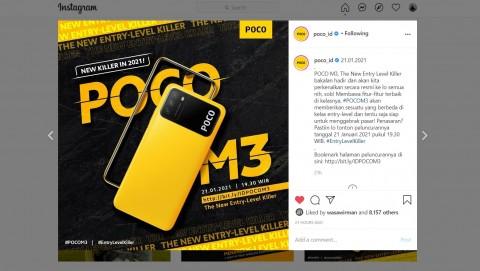 Xiaomi Bawa Poco M3 Ke Indonesia Tanggal 21 Januari