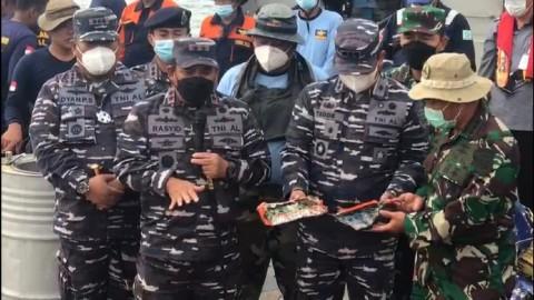 Arus Bawah Laut Hambat Pencarian CVR Sriwijaya Air SJ-182