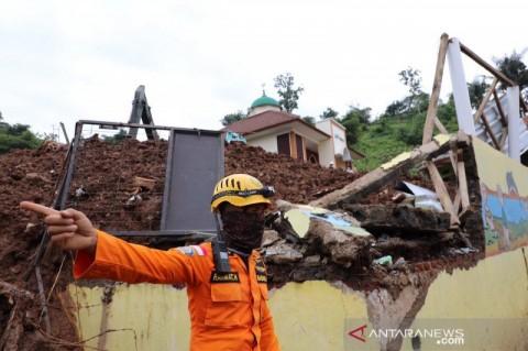 BNPB Ingatkan Longsor Masih Berpotensi Terjadi di Sumedang