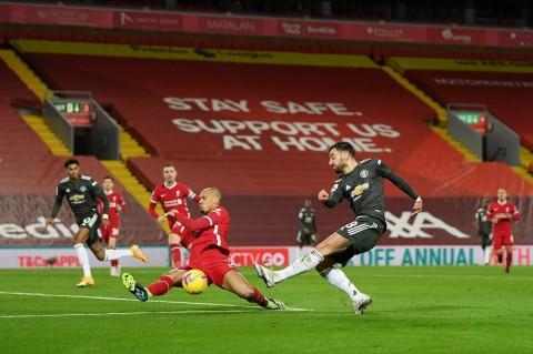 Liverpool vs MU: Berakhir Imbang, The Reds Gagal Kembali ke Puncak