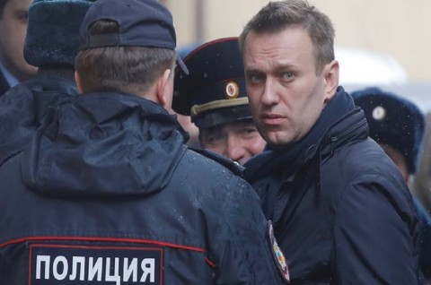 Kritikus Putin Ditahan Polisi usai Tiba di Rusia
