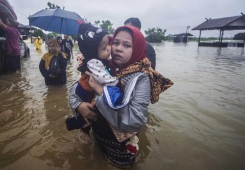 Jumlah Korban Banjir Kalsel Terus Bertambah
