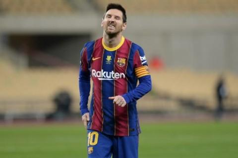Piala Super Spanyol: Barcelona Gagal Juara, Messi Kena Kartu Merah Perdana