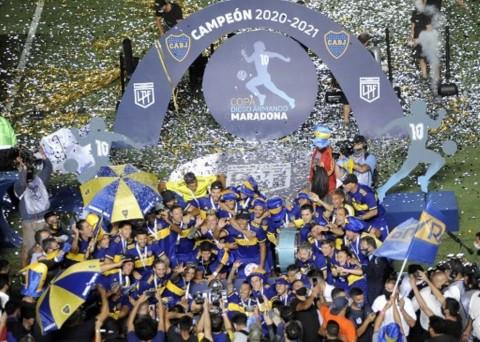 Boca Juniors Menjuarai Maradona Cup