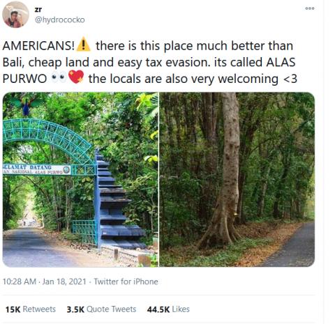 Overstay dan Tidak Bayar Pajak di Bali, Netizen Sarankan Kristen Gray ke Alas Purwo
