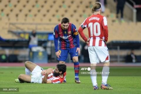 Messi Terancam tak Bisa Bermain Hingga 12 Laga