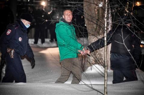 Kritikus Putin Serukan Demo di Jalanan usai Dijebloskan ke Penjara