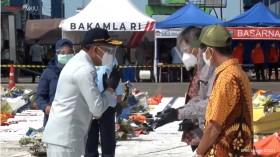 Keluarga 36 Korban Kecelakaan Sriwijaya Air Terima Santunan