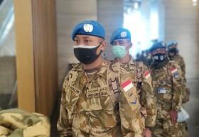 186 Personel Pasukan Garuda Karantina di Hotel Grand Mercure Kemayoran