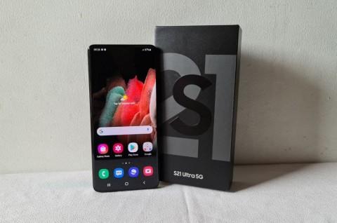 Kesan Pertama Menggenggam Samsung Galaxy S21 Ultra 5G