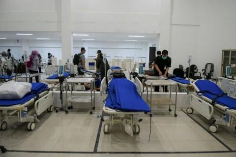Keterpakaian Tempat Tidur Isolasi Covid-19 di Banten Tertinggi se-Indonesia