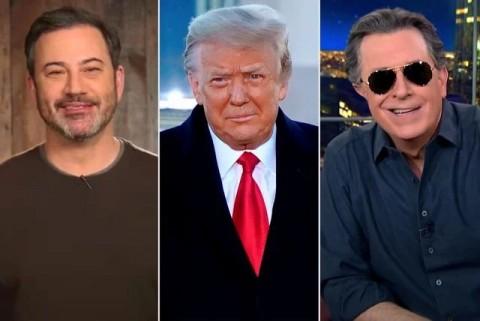 'Ledekan Terakhir' untuk Donald Trump dari Para Presenter Terkenal Amerika