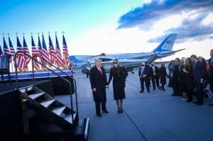 Populer Internasional: Trump dan Air Force One Hingga Pelantikan Joe Biden