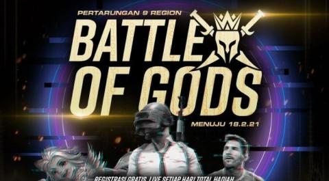 Dewa United Esports Gelar Battle of Gods, Hadiah Rp150 Juta