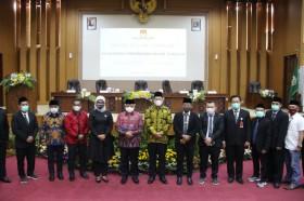 Sanusi-Didik Ditetapkan sebagai Bupati-Wakil Bupati Malang