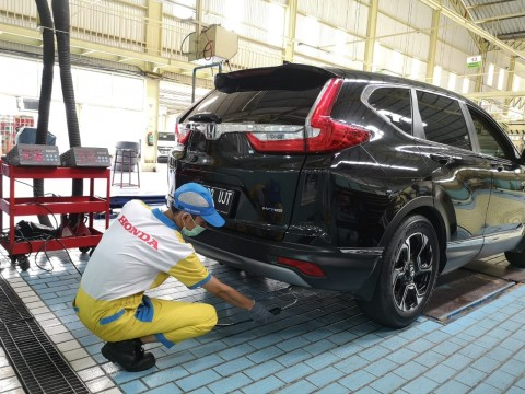 Honda Sediakan Layanan Uji Emisi, Cuma Rp50 Ribu