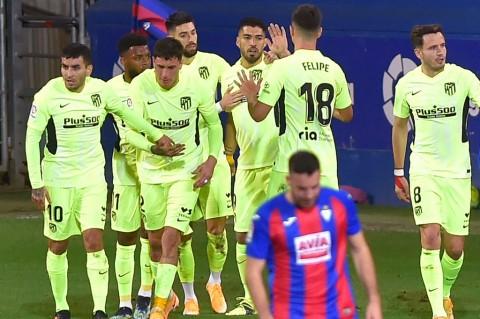 Eibar vs Atletico: Los Rojiblancos Berbalik Menang Berkat Brace Suarez