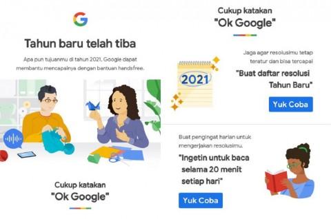 Begini Cara Buat Resolusi Tahun Baru via Google Assistant