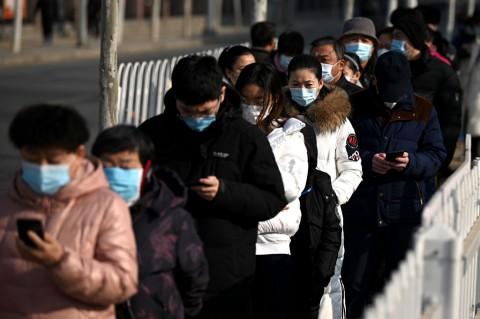 Beijing Kembali Lakukan Tes Massal Covid-19