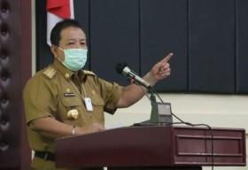 Gubernur Lampung Minta PKL dan KKN Mahasiswa Ditunda
