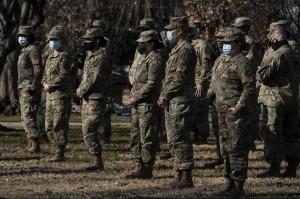 Lebih dari 150 Personel Garda Nasional Positif Korona