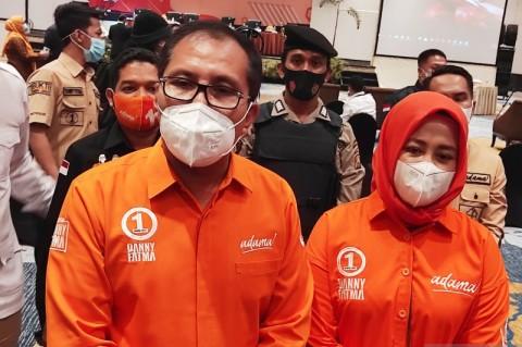 Danny-Fatma Ditetapkan sebagai Wali Kota-Wakil Wali Kota Makassar