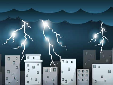 Hujan Disertai Petir Diramalkan Melanda Sebagian Wilayah DKI