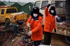 Tiongkok Selamatkan 11 Penambang yang Terjebak Dua Pekan