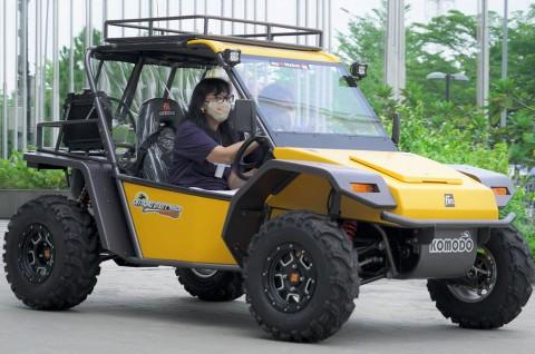 Kendaraan Buatan Cimahi Sukses Mendapatkan Penghargaan Desain Terbaik