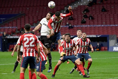 Atletico Madrid vs Valencia: El Atleti Lanjutkan Tren Kemenangan