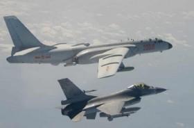 Pesawat Pengebom dan Jet Tiongkok Langgar Zona Udara Taiwan