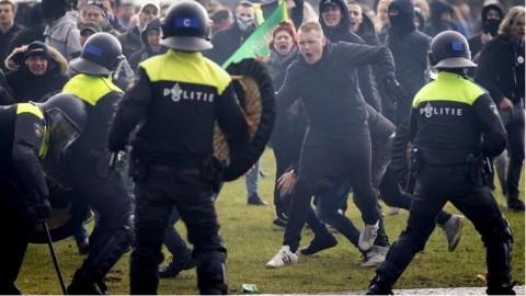 Belanda Rusuh! 100 Orang Ditahan karena Menolak Lockdown