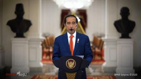 Jokowi Sebut Indonesia Bisa Kendalikan Krisis Kesehatan dan Ekonomi Sekaligus