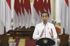 Jokowi Resmikan Gerakan Nasional Wakaf Uang