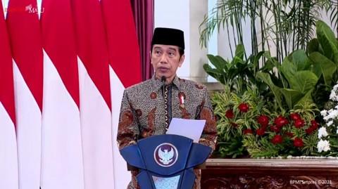 Jokowi Resmikan Brand Ekonomi Syariah