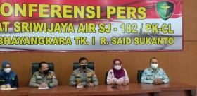 RS Polri Telah Identifikasi 53 Korban Srwijaya SJ-182