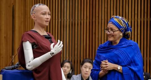 Robot Sophia Bakal Diproduksi Massal, Cegah Kesepian di Pandemi Covid-19