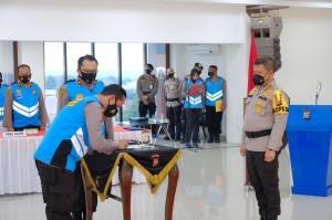 834 Personel Polda Riau Ikuti Seleksi Sekolah Inspektur Polisi
