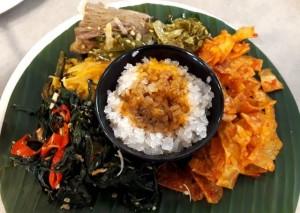 Nasi Shirataki dengan Lauk Khas Nasi Kapau, Sehat dan Lamak Bana!