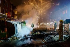 Aksi Protes Jam Malam di Belanda Kembali Ricuh