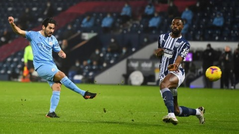West Brom vs Manchester City: The Sky Blues Hancurkan The Baggies