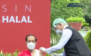 Langsung Beraktivitas Usai Divaksin, Jokowi DIjadwalkan Melantik Kapolri