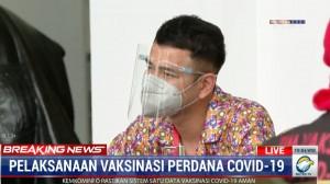 Raffi Ahmad Bersyukur Vaksinasi Kedua Lancar: Ayo Jangan Takut Vaksin!